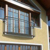 Ballustradengitter-französischer Balkon
