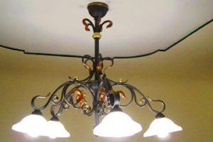 Geschmiedete Deckenlampen, Wandlampen, Gartenlampen