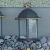 Wandlampe-Stahl