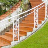 Geschmiedete Treppengeländer