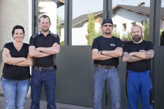 Team der Bau- & Kunstschlosserei